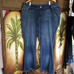 Lane Bryan Distinctly boot cut jeans